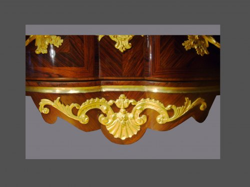18th century marquetry commode - French Regence