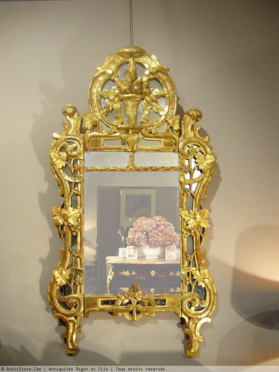 Giltwood Mirror 18th Century Period Ref 14620