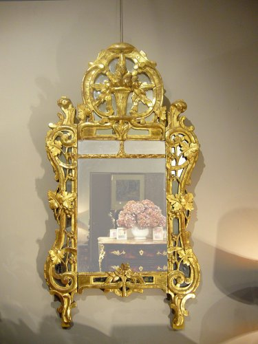 Giltwood mirror, 18th century period