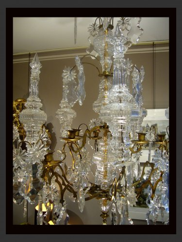 Ten-light chandelier - Lighting Style Louis XV