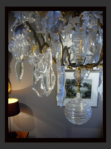18th century - Ten-light chandelier