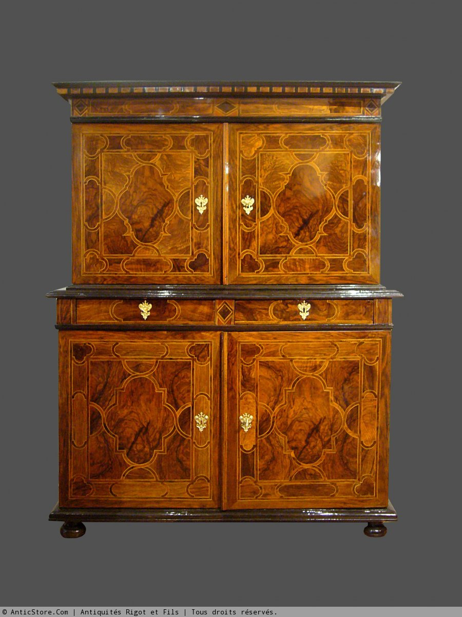 Cabinet marquet d 39 poque fin xviie si cle - Cabinet d architecture grenoble ...