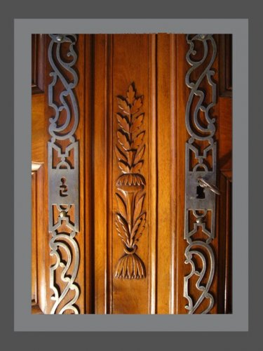 Provence armoire late 18th early 19h centuury -