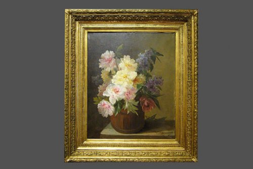 Pair of still life Paintings - Paintings & Drawings Style
