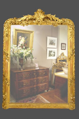 19th century period mirror