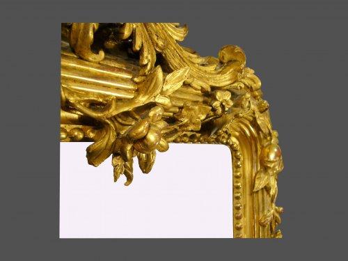 19th century period mirror -