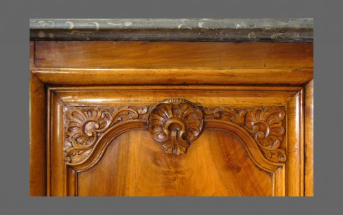 French Hunt buffet, Lyons France - Furniture Style Louis XV