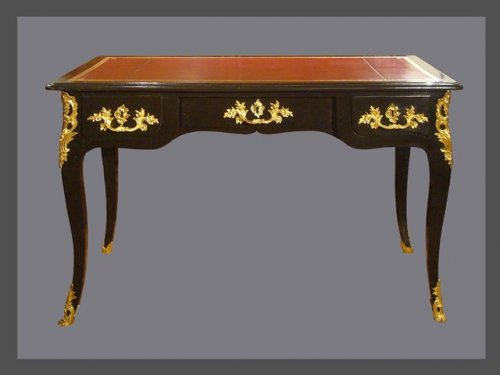 Laquered Bureau plat, 18th century