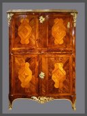 "A Louis XV secretaire said ""en armoire "" attibuted to Pierre II MIGEON"