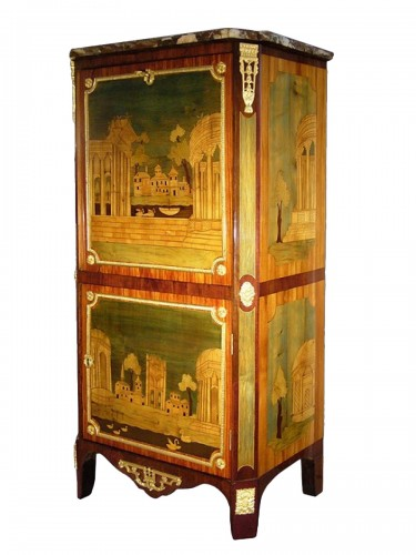 A Louis XVI secretaire stamped GILBERT