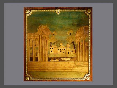 Furniture  - A Louis XVI secretaire stamped GILBERT