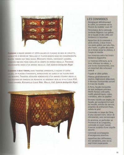 18th century commode by louis noël malle - Louis XV