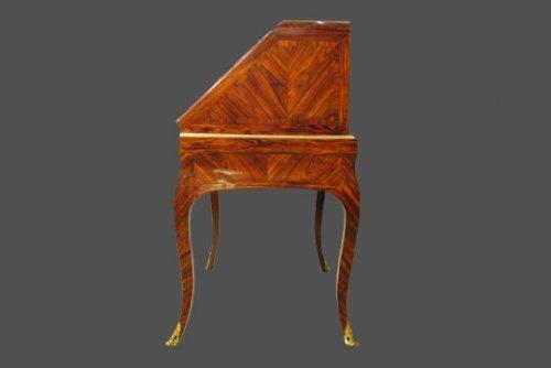 18th century - Slanted Desk stamped FF