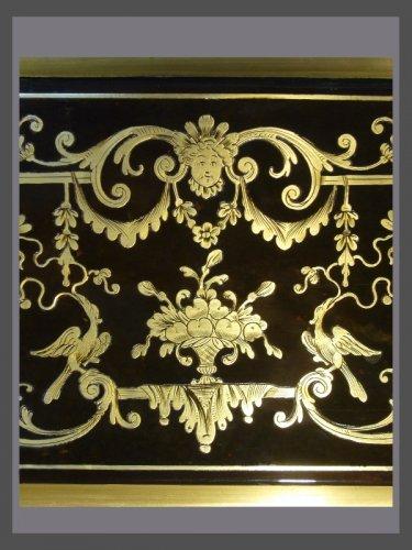 Bibliothèque d'époque Louis XIV estampillée Nicolas SAGEOT -