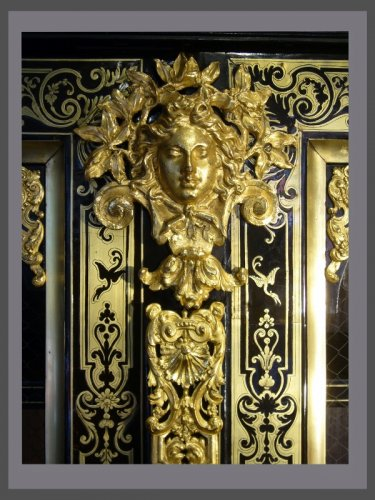 Louis XIV - Bibliothèque d'époque Louis XIV estampillée Nicolas SAGEOT