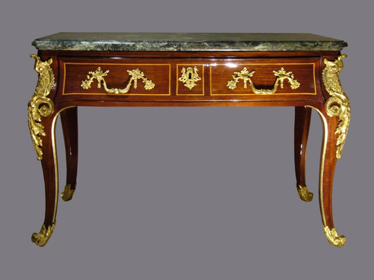 Commode console d 39 poque r gence xviiie si cle - Console commode ...