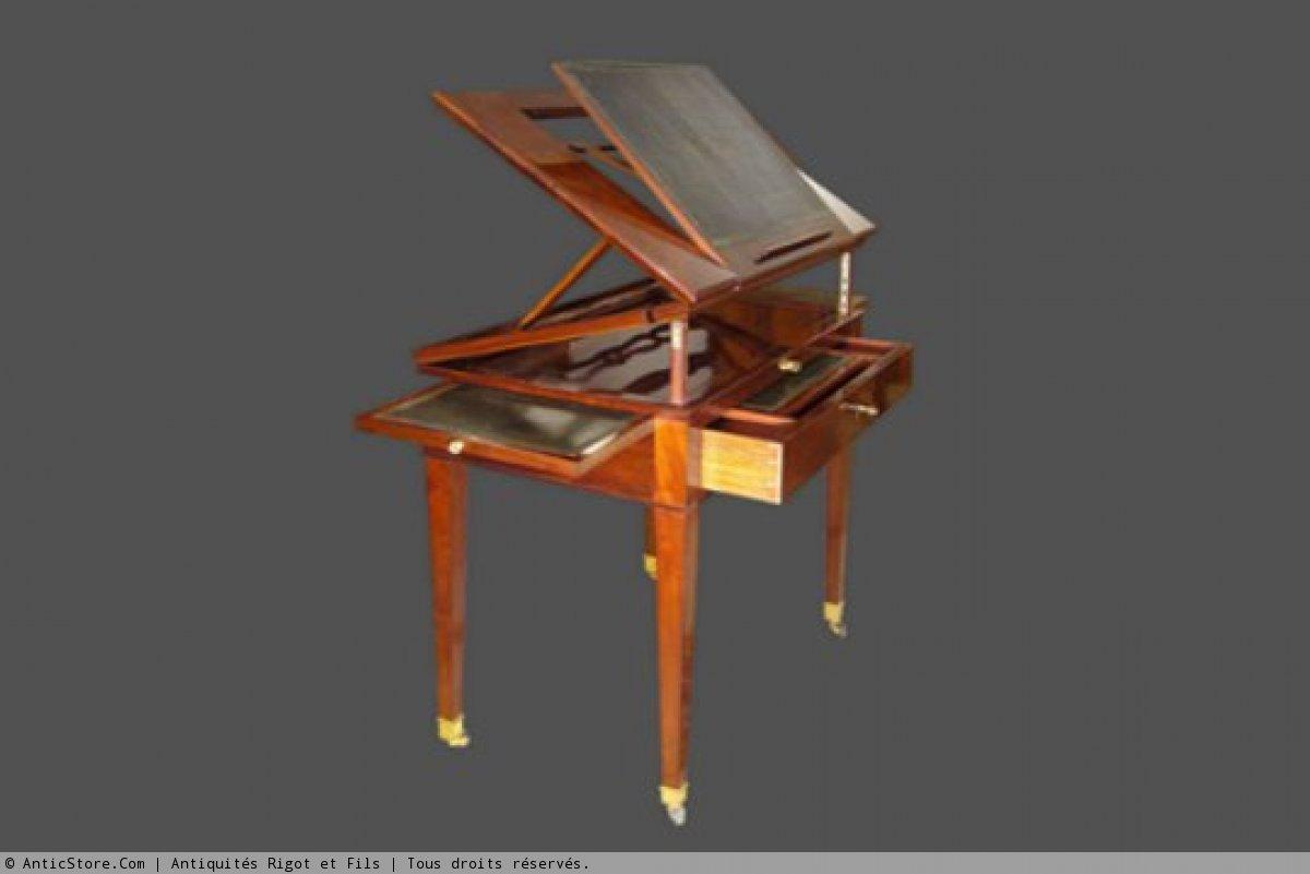 Architect 39 s table called la tronchin for Table franco et fils