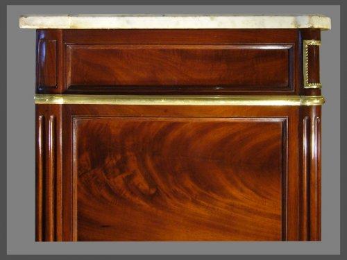 Antiquités - A Louis XVI ormolu-mounted mahogany commode
