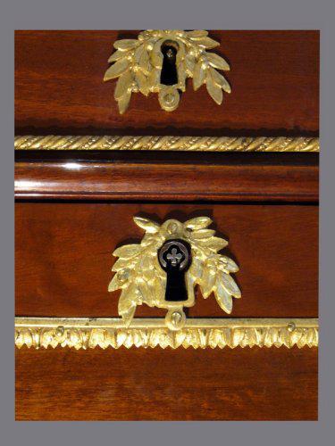 Louis XVI Secrétaire à Abattant - Louis XVI