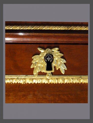 Antiquités - Louis XVI Secrétaire à Abattant