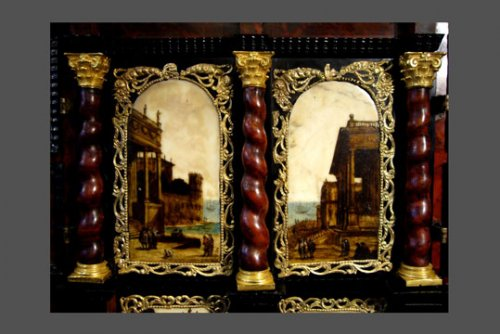Cabinet, Work of the 17th century -