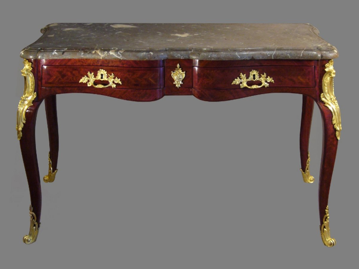 Louis xv table console by hedouin - Table louis xv ...
