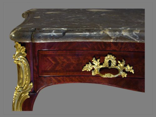 Louis XV - Louis XV Table Console, by Hedouin