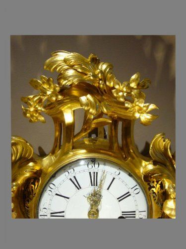 Ormolu-mounted Cartel Clock, Louis XV -