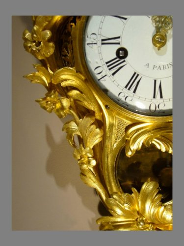 Ormolu-mounted Cartel Clock, Louis XV - Louis XV