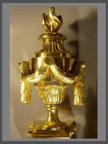 Paire of Louis XVI Period Sconces - Lighting Style Louis XVI