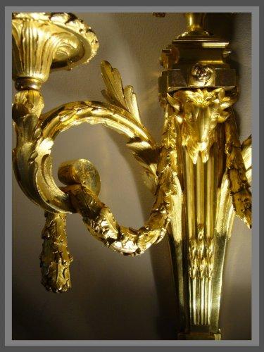 Lighting  - Paire of Louis XVI Period Sconces