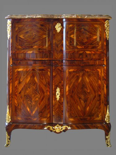 Louis XV Period Secrétaire, Stamped Carel and Migeon