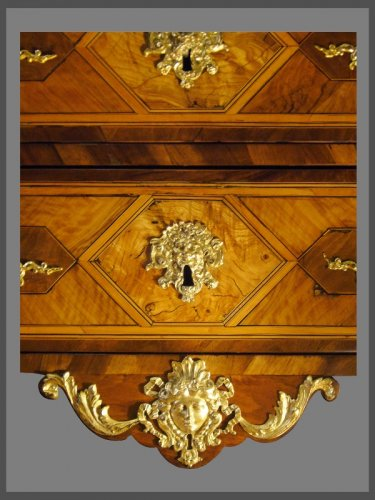 Furniture  - A French Louis XIV Period Commode, attributed to Thomas HACHE