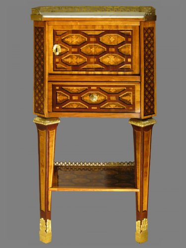 A rare Louis XVI Table de Salon attributed to Martin CARLIN, circa 1780-178