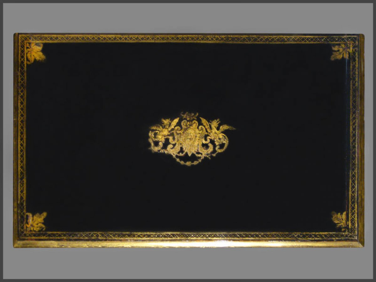Louis XIV Period French ebonized bureau Mazarin Ref61978