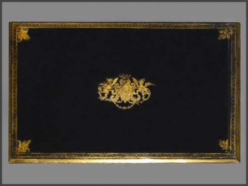 Louis XIV Period French ebonized bureau Mazarin -