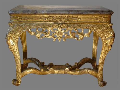 Table Console d'époque Régence