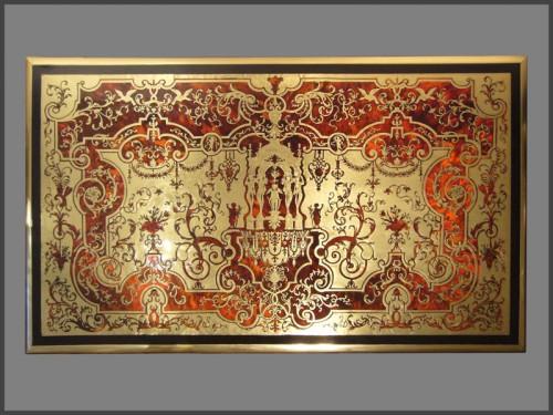 Louis XIV Boulle Marquetry Bureau Mazarin - Furniture Style Louis XIV