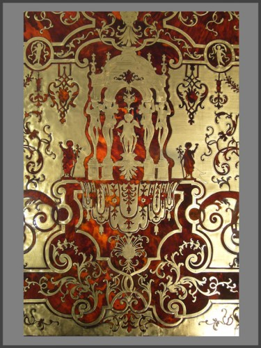 Furniture  - Louis XIV Boulle Marquetry Bureau Mazarin