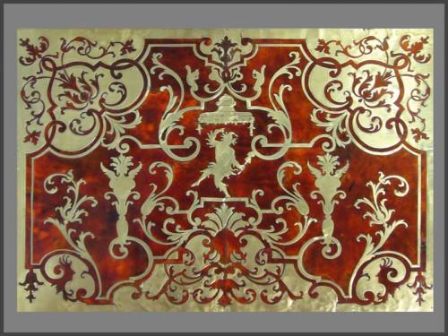 17th century - Louis XIV Boulle Marquetry Bureau Mazarin