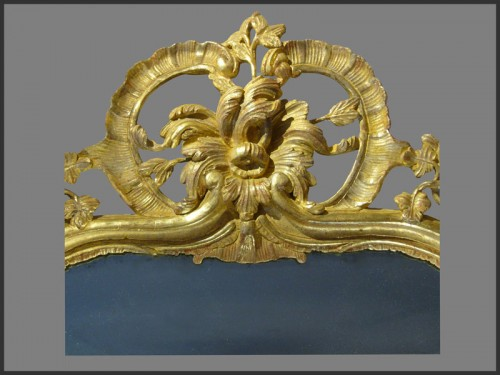 Provence Giltwood Mirror - Mirrors, Trumeau Style Louis XV