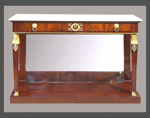 Console d'époque Empire