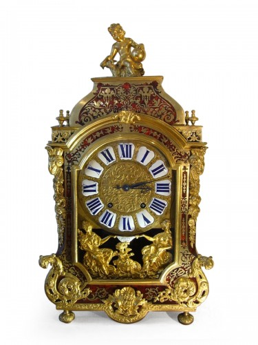 Boulle Marquetery Cartel Clock