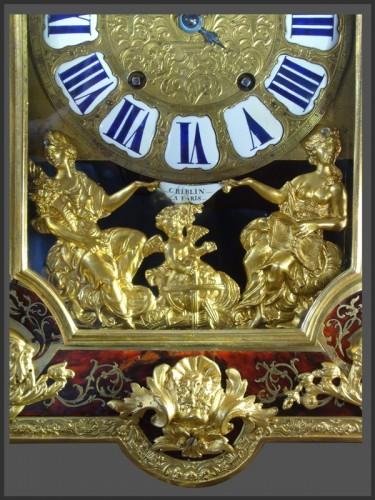 Clocks  - Boulle Marquetery Cartel Clock