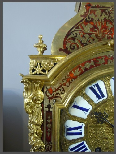 Boulle Marquetery Cartel Clock -