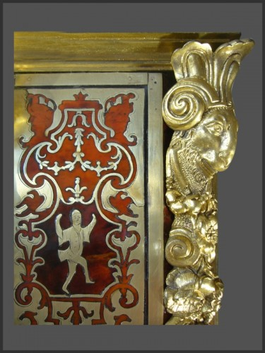 18th century - Boulle Marquetery Cartel Clock