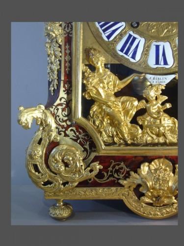 Louis XIV - Boulle Marquetery Cartel Clock