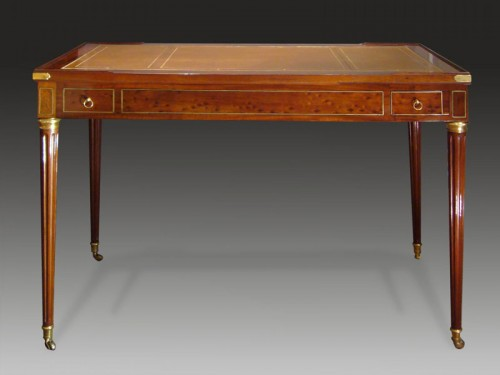 Antiquités - A Louis XVI Mahogany Ebony, Ivory Tric-Trac table