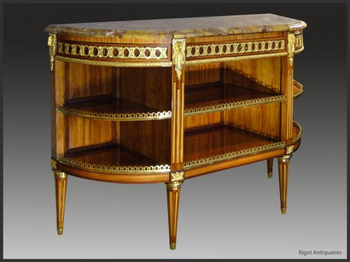 Louis XVI Console Desserte stamped RVLC - Furniture Style Louis XVI