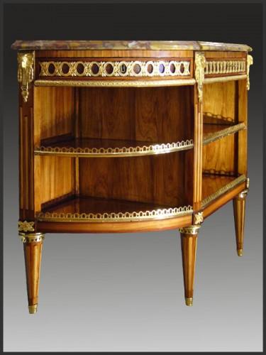 Furniture  - Louis XVI Console Desserte stamped RVLC